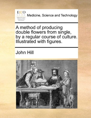 A method of producing double flowers from single, by a regular course of culture. Illustrated with figures.