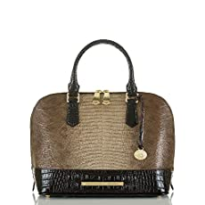 Vivian Dome Satchel<br>Sable Pennfield