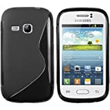 mumbi S-TPU Schutzhülle Samsung Galaxy Young S6310N / Galaxy Young DUOS S6312 Hülle (NICHT für das Galaxy Y Young Duos S6102)