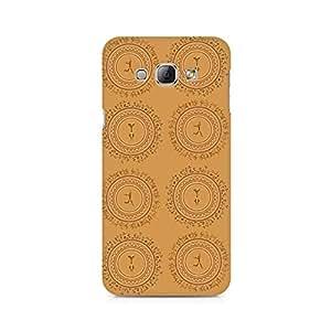 Ebby Primitive Yoga Premium Printed Case For Samsung A8