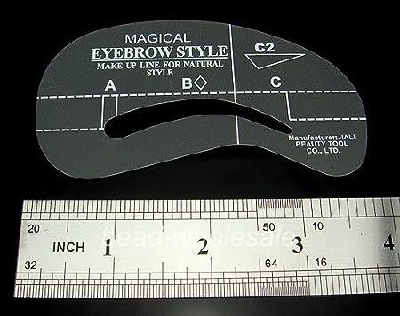 y boa 5 sets de 4 styles c5 c8 pochoir sourcils guides. Black Bedroom Furniture Sets. Home Design Ideas