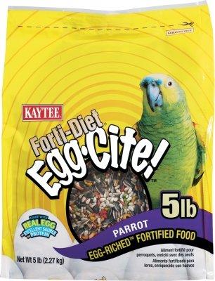 Bird Supplies Forti Diet Eggcite Parrot 5Lb