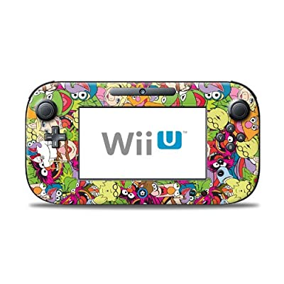 Muppet Mash Up Design Protective Decal Skin Sticker for Nintendo Wii U Controller Device