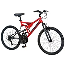 Pacific Boy's Chromium Full Suspension Bicycle 24Inch