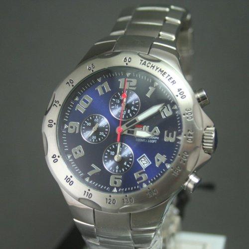 Fila uomo-orologio Cronografo in acciaio inox luenette FA0795-32