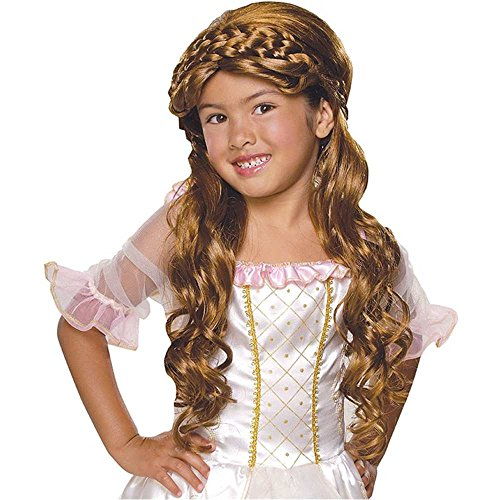 Child Enchanted Princess Brown Wig