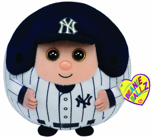 Ty Beanie Ballz Mlb New York Yankees Large Plush front-834219