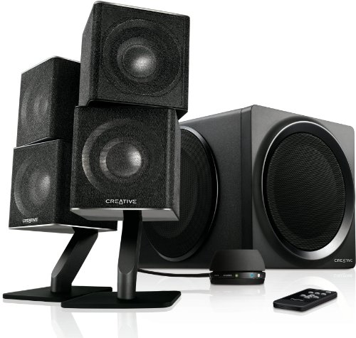 Creative T6 Series II 2.1 Wireless Bluetooth Speaker System schwarz