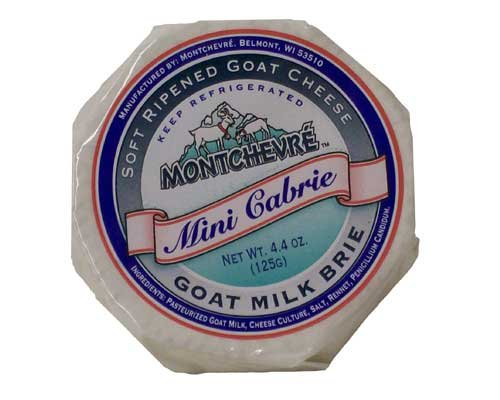 Cabrie Montchevre Brie byWisconsin Cheese Mart