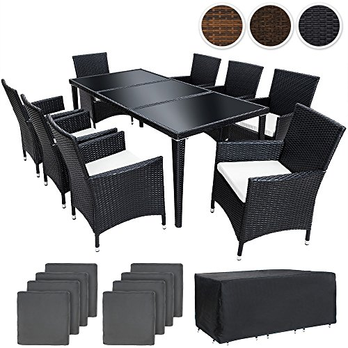 tectake-set-di-mobili-da-giardino-alluminio-poli-rattan-arredamento-esterno-sedie-tavolo-8-1-nero-2-