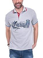 SIR RAYMOND TAILOR Polo Shirt Short Sleeve Square (GRIS)