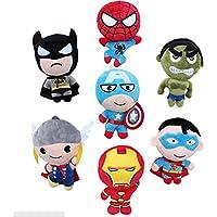 The Avengers Super Heros Iron Man/ Hulk/ Spiderman/ Thor/ Amerian Capitain/ Batman/ Superman Plush Toys 8inch...