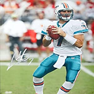 Chad Henne Autographed Signed 16x20 Miami Dolphins Photo by Hollywood Collectibles