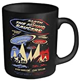 Plastic Head Plan 9 Earth vs The Flying Saucers Mug, Black