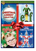 Christmas Comedy Collection Elf A Christmas Story National Lampoons Christmas Vacation from Warner Home Video