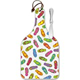Flip Flops Cheese Server – Large