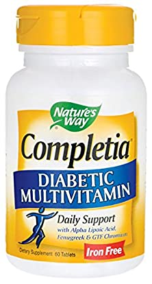 buy Nature'S Way, Completia Diabetic - 60 Tabs