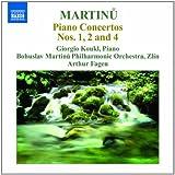 Martinu : Concertos pour piano n° 1, 2 et 4