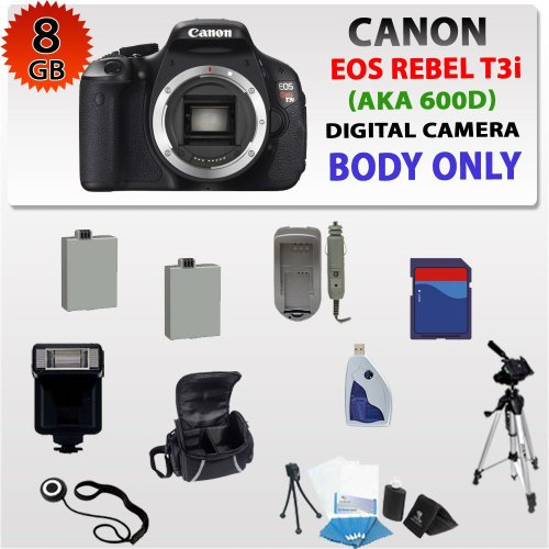Canon EOS Rebel T3i 600D SLR Digital Camera Body