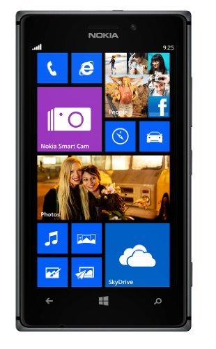 Nokia Lumia 925 Rm-893 16Gb 4G Lte Gsm Unlocked At&T Windows 8 Cell Phone - Black