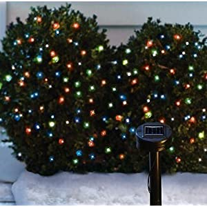 Click to buy Outdoor Christmas Lights: Solar Powered Christmas Lights String Light 105 LED Multicolor from Amazon!