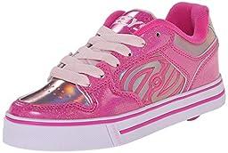 Heelys Motion Skate Shoe (Toddler/Little Kid/Big Kid), Fuchsia Pink, 7 M US Big Kid