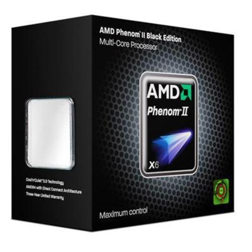 AMD Phenom II X6 1100T Black Edition Six-Core Processor - 3.30 GHz, 9MB Cache, Socket AM3, 125W, 3 Year Warranty, Retail Boxed