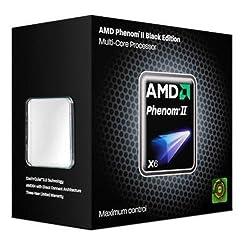 AMD PhenomII X6 1100T BE TDP125W 3.3GHz×6 HDE00ZFBGRBOX