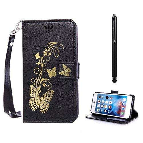 KSHOP d'accessoire pour Samsung Galaxy A7 2016 (not for 2015 Version) Wallet Case Coque Etui PU Cuir Portefeuille Housse [Fermeture magnétique]
