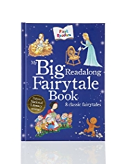 First Readers My Big Read-Along Fairytale Story Book