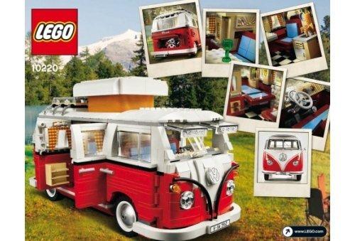 Lego 10220 improved version 1334pcs Volkswagen T1 Camper Van (LEGO Volkswagen T1 Camper Van) (Volkswagen T1 Camper Van compare prices)
