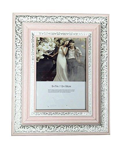 Lilian PC Polymer Environmental Exquisite Desktop Picture Frames, Pink, 5