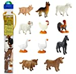 Plastic Miniatures In Toobs-Farm