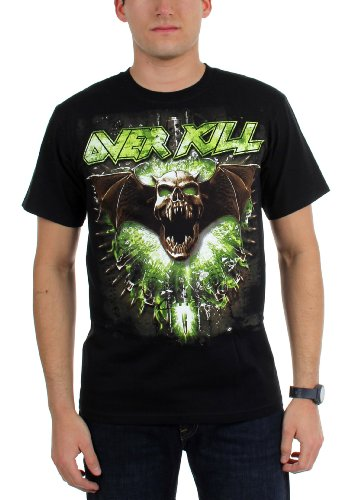 Overkill - Top - Uomo Black Medium