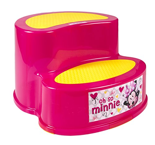 Minnie Two Tier Step Stool Hardware Tools Ladders