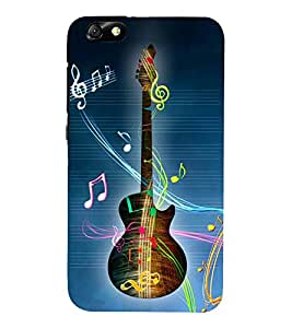 Gutarist Music Singer 3D Hard Polycarbonate Designer Back Case Cover for Huawei Honor 4X :: Huawei Glory Play 4X