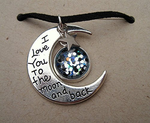 silver-tone-meteor-glitter-glass-i-love-you-to-the-moon-and-back-pendant-necklace-black-faux-suede