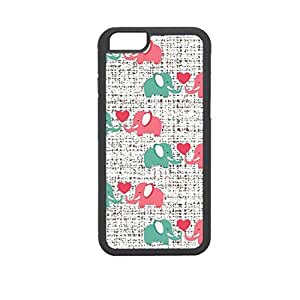 Vibhar printed case back cover for Apple iPhone 6 Plus 2Hathi