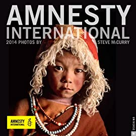 Amnesty International 2014 Wall Calendar- Photographs by Steve McCurry