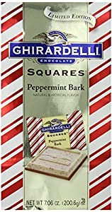 Ghirardelli Chocolate Squares, Peppermint Bark, 7.06 oz