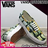 VANS AUTHENTIC Della Batik/Yellow バンズオーセンティックデラ/レディース(ladies') 靴 スニーカー(VN-0VOEAWE)