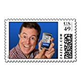 "Stephen Colbert's ""Farewell to Postage"" Postage"