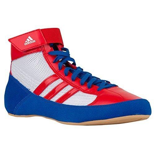 adidas - Pantofole a Stivaletto uomo , Bianco (Bianco/Rosso/Blu), 40 EU