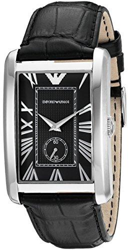 ed476d9901f3 Emporio Armani Classic Marco AR1604 - Reloj analógico de cuarzo para hombre