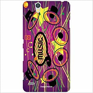 Design Worlds - Sony Xperia C4 Designer Back Cover Case - Multicolor Phone ...