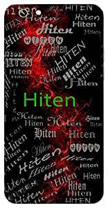 Hiten (Hindu Boy) Name & Sign Printed All over customize & Personalized!! Protective back cover for your Smart Phone : Samsung Galaxy S6 Edge