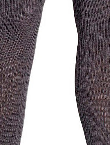 American Apparel Women's Cotton Solid Thigh-High Socks Size OS Asphalt (Thigh Socks For Women)
