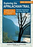 img - for Exploring the Appalachian Trail: Hikes in the Mid-Atlantic States: 2nd Edition book / textbook / text book