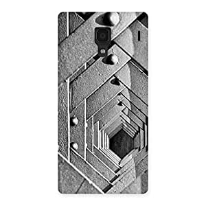 Delighted Cage Hexa Back Case Cover for Redmi 1S