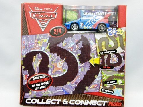 Disney Pixar Cars 2 RAOUL CaROULE Collect and Connect 24pc. Puzzle - 1